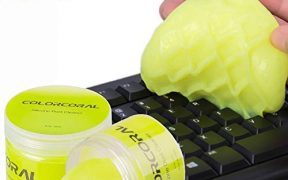Substans that cleans your keyboard