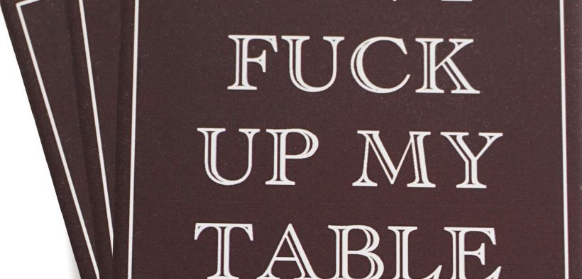 Funny table coasters