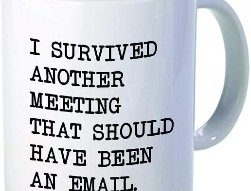I survived another meeting cup