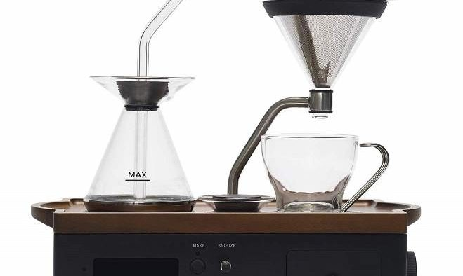 Coffee machine designed to make coffee in the bedroom
