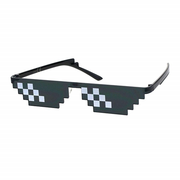 Sun glasse that looks like the glasses from thug life