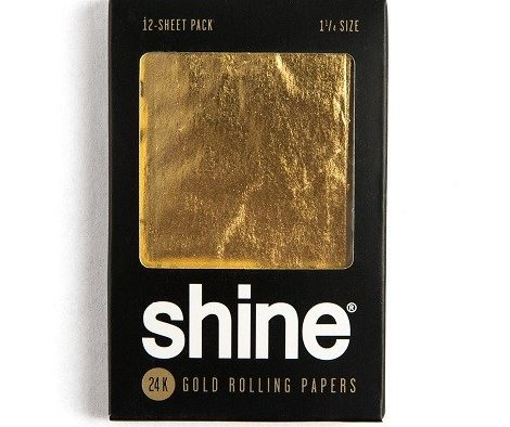 Gold paper to roll cigarettes