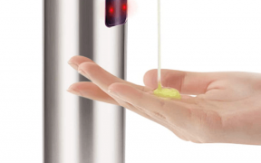 Touchless Automatic Soap Dispenser and hand
