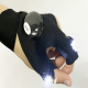 Gloves with LED lights attached to it
